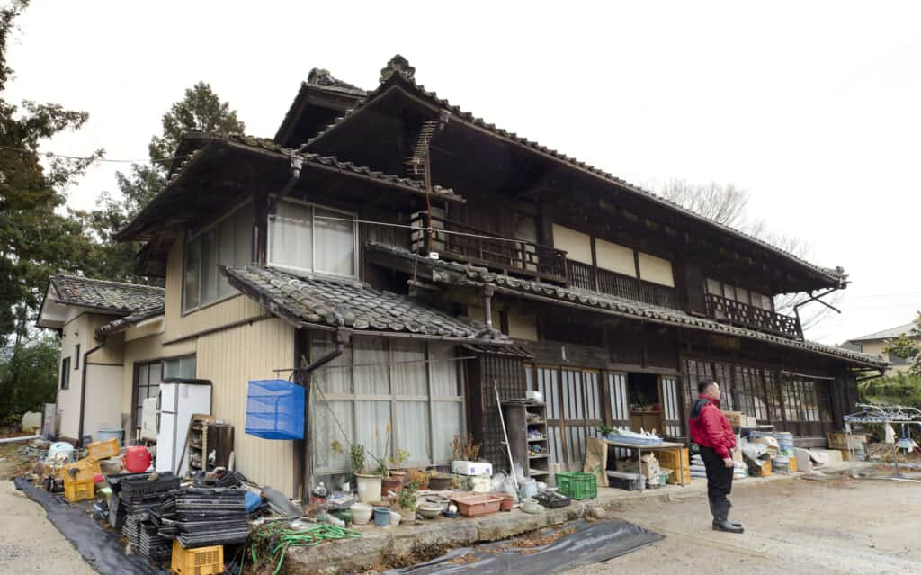 House in Iwaki city, Fukushima Prefecture.