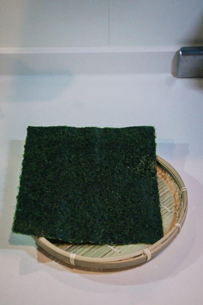 Some nori - Japanese seaweed