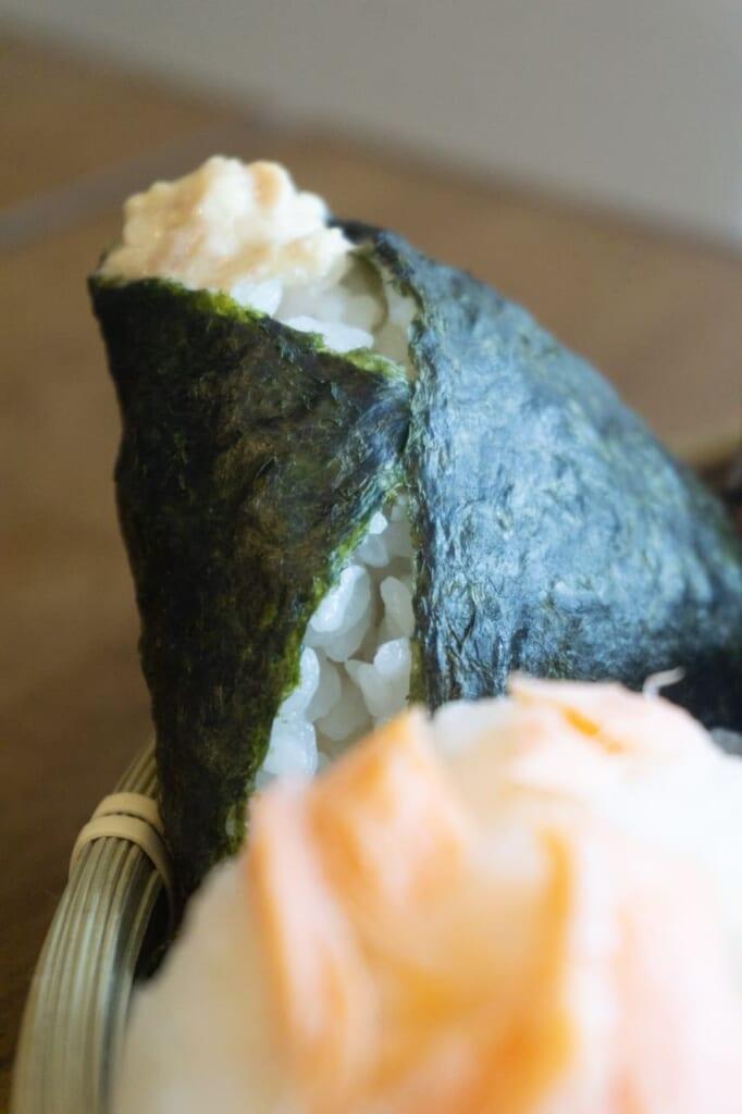 Onigiri with nori