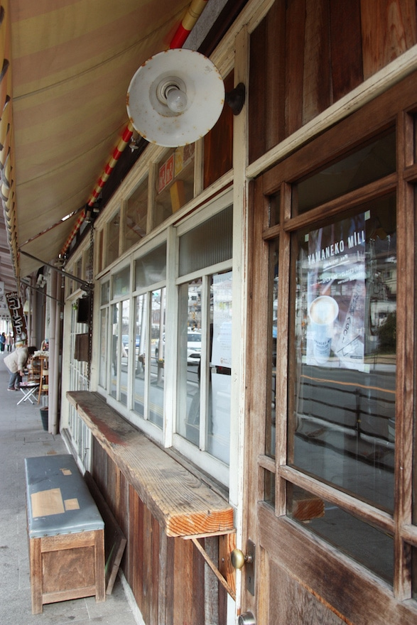 Street view of Onomichi Port