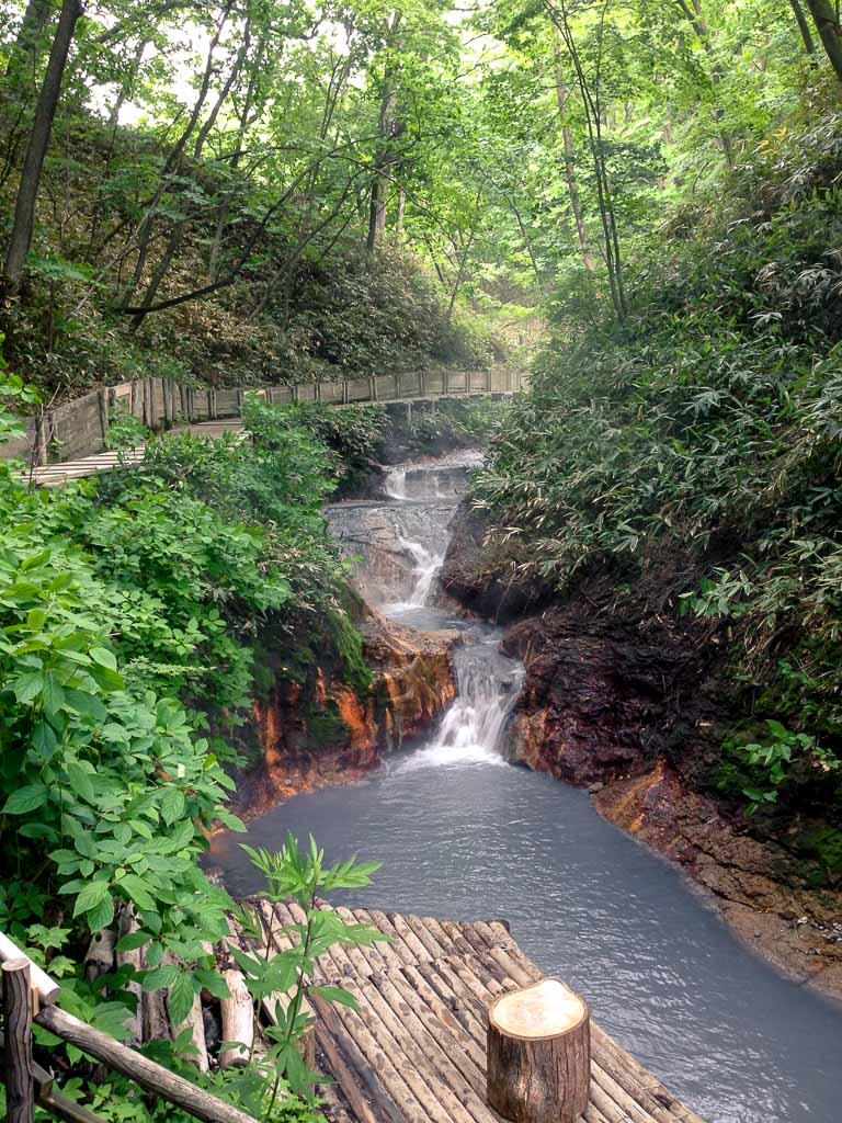 Oyunumagawa Brook Foot Bath