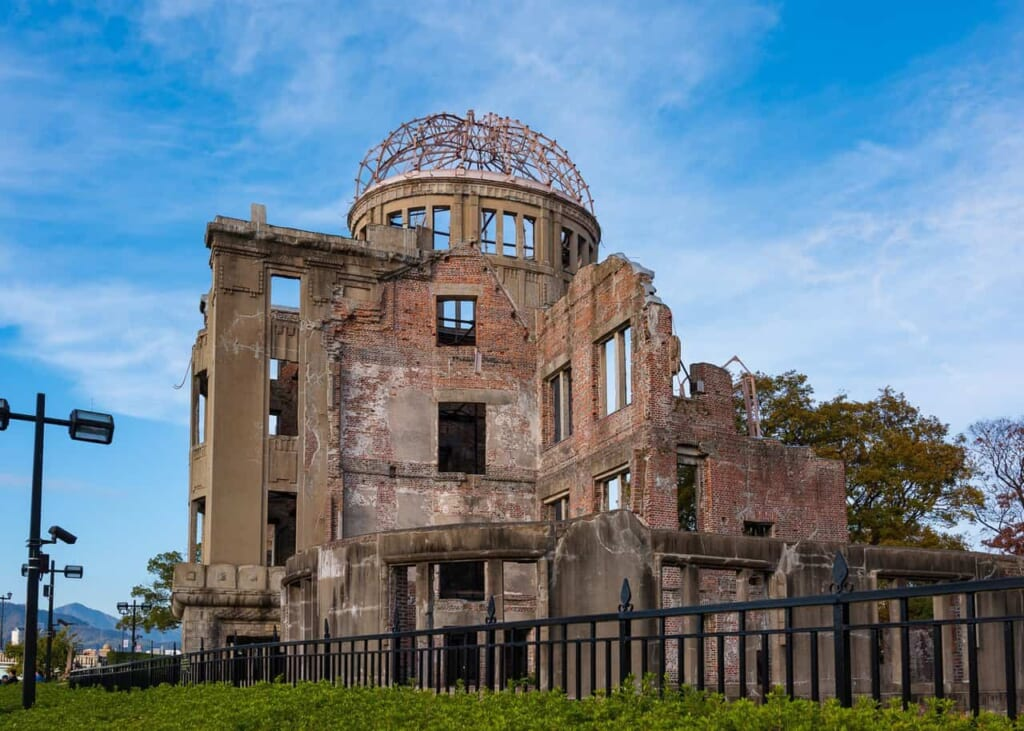 The only building that could stand during the Hitoshima's bombing