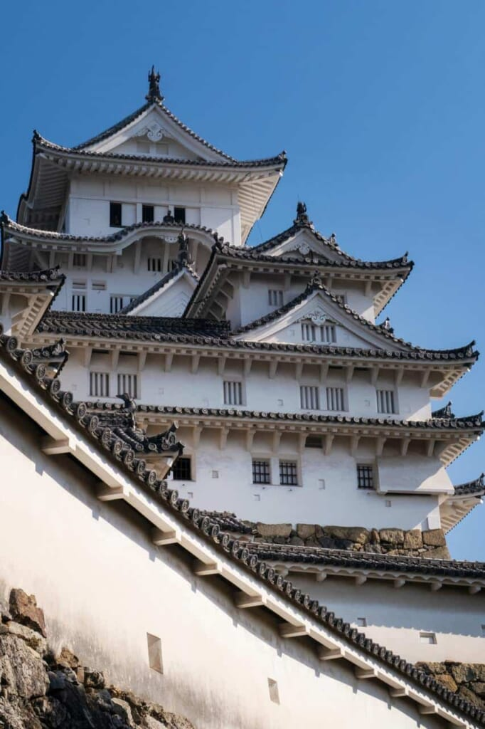 The marvelous Himeji castle. It is said a yurei lives around there