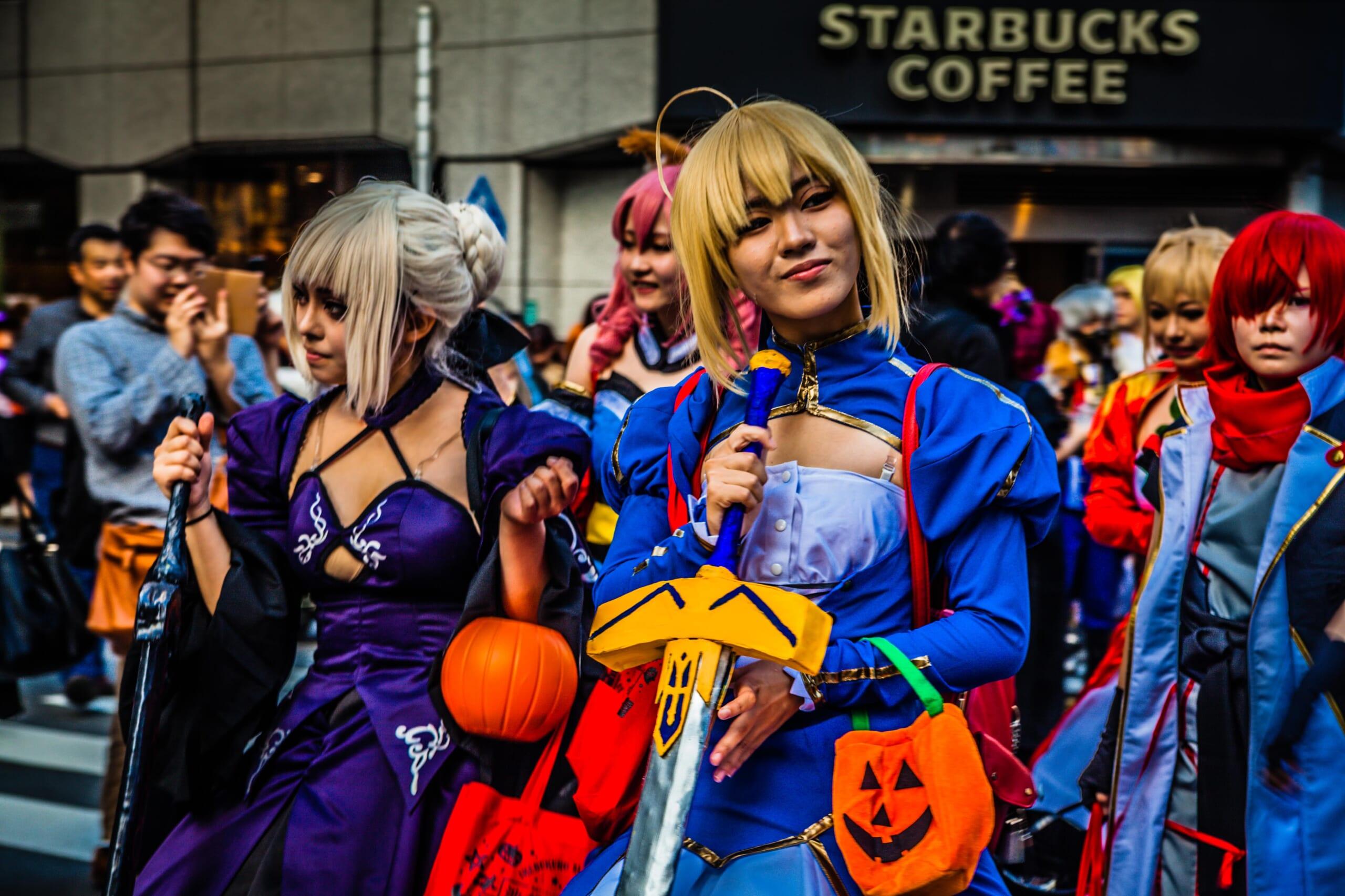 Halloween in Tokyo: No Sleepy Tales