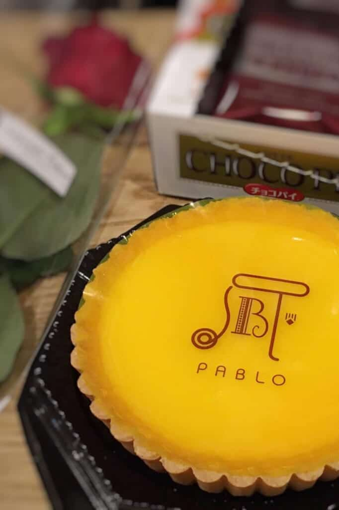 Pablo, a japanese cheesecake