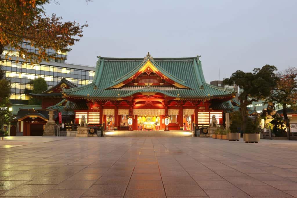 Kanda Myojin in Tokyo, Japan.
