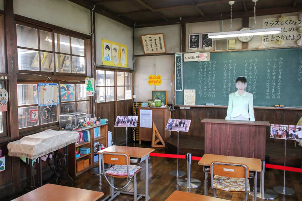 Classrooms in Kitano no Canary Park on Rebun island
