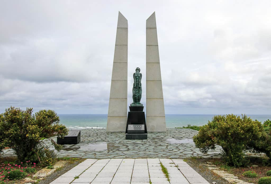 Hyosetsu Gate is dedicated to those who died during the island's evacuation during Sakhalin Island's takeover.