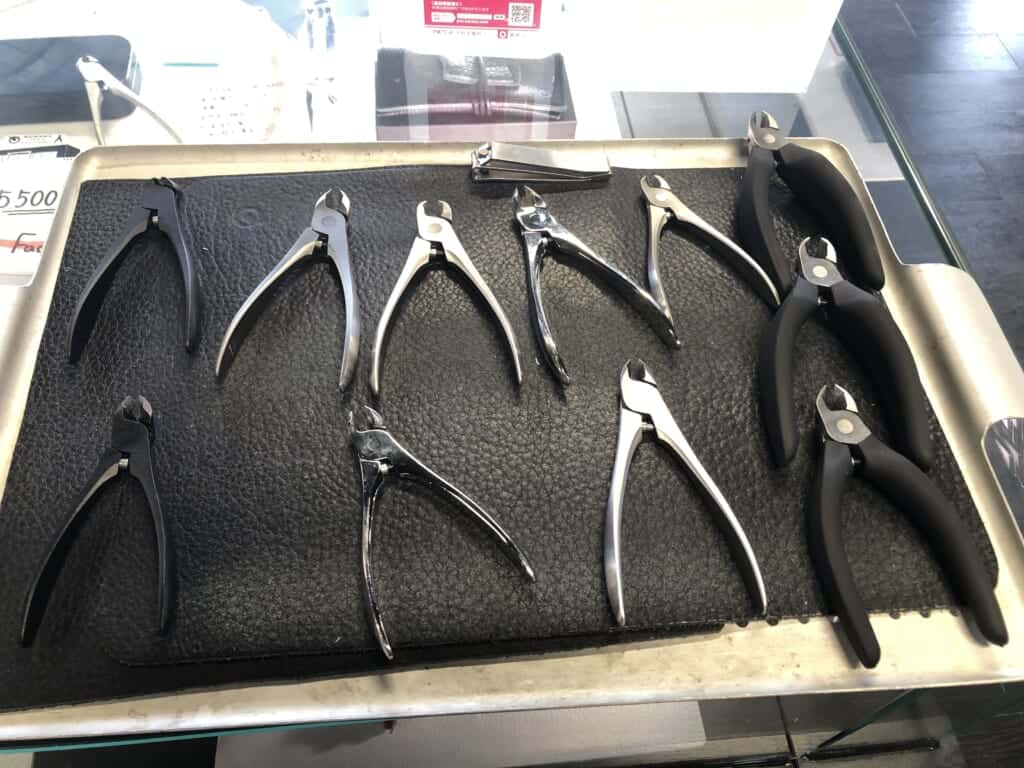 Metal tools handcrafted in Niigata, Japan