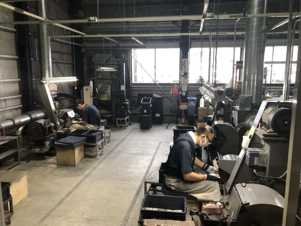 Inside Tojiro Knifemaker Open Factory in Niigata, Japan
