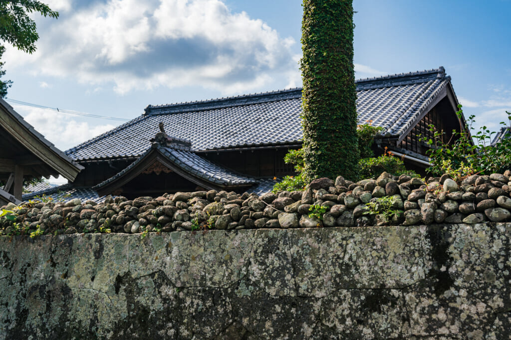 Former samurai residence now home to the Nizo Yamamoto Art Museum in Goto