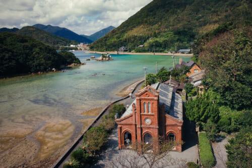 Dozaki church on Fukue Island in Goto