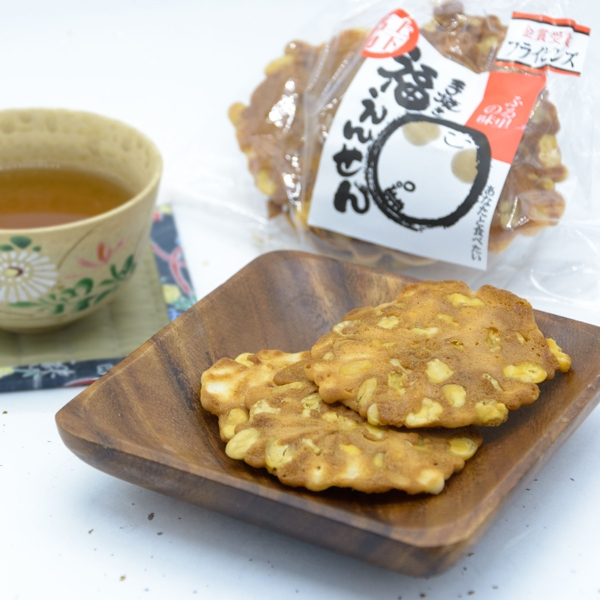 Senbei included at the next Peko Peko box