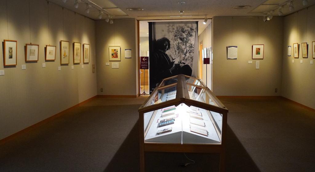 museum exhibition room