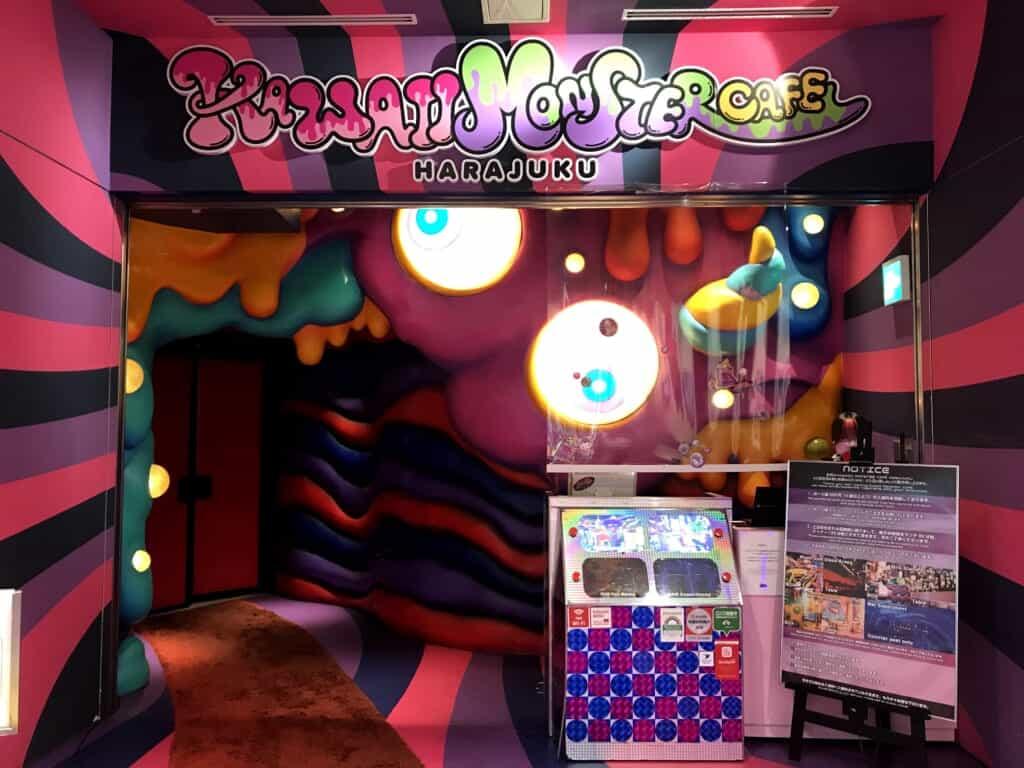Kawaii Monster Cafe entrance