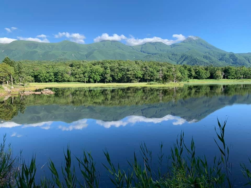One of the Five Lakes at Shiretoko Peninsula in Hokkaido