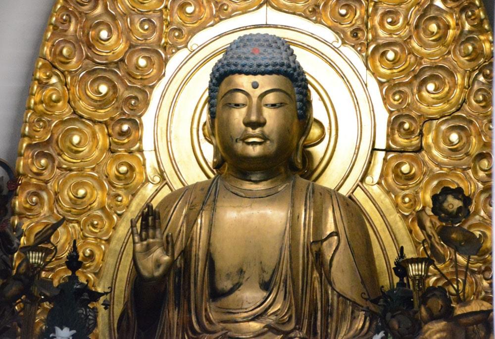 Onsenji Temple, Arima Onsen - Buddha Statue