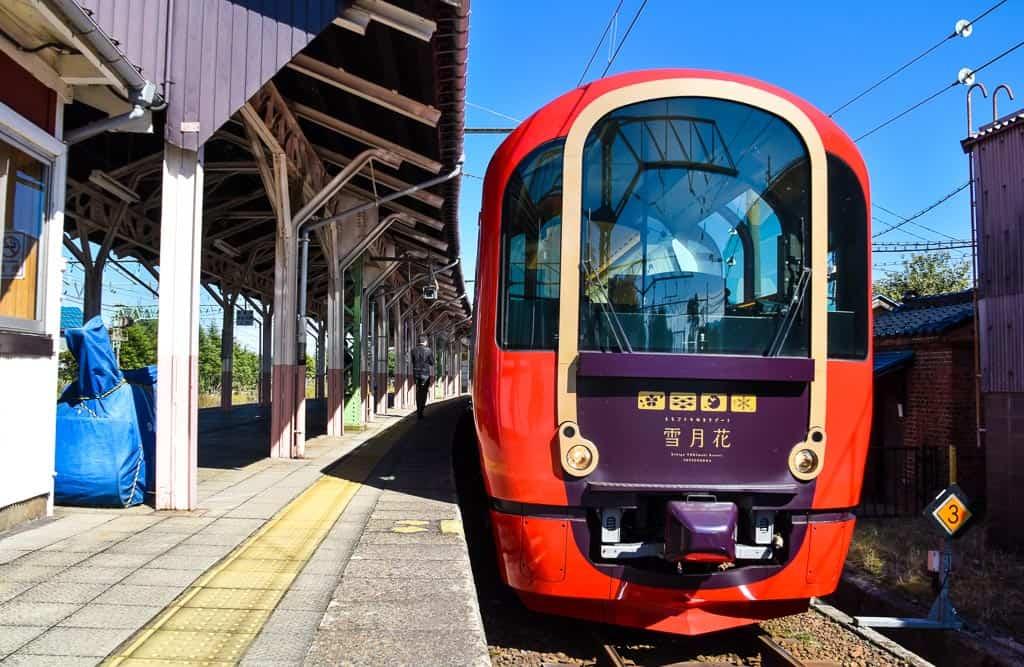Setsugekka Train in Niigata