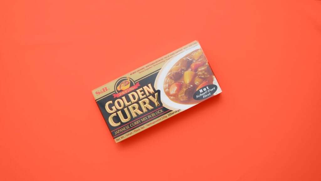 curry roux that can be bought in shops