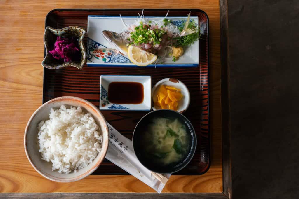 Fresh fish Enoshima Island