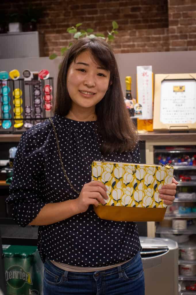 Minako, the creator of MinaHomi Design Workshop
