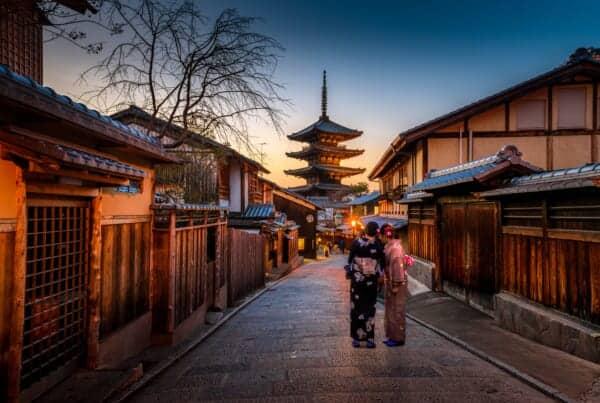 Yasaka no To Pagoda in Kyoto
