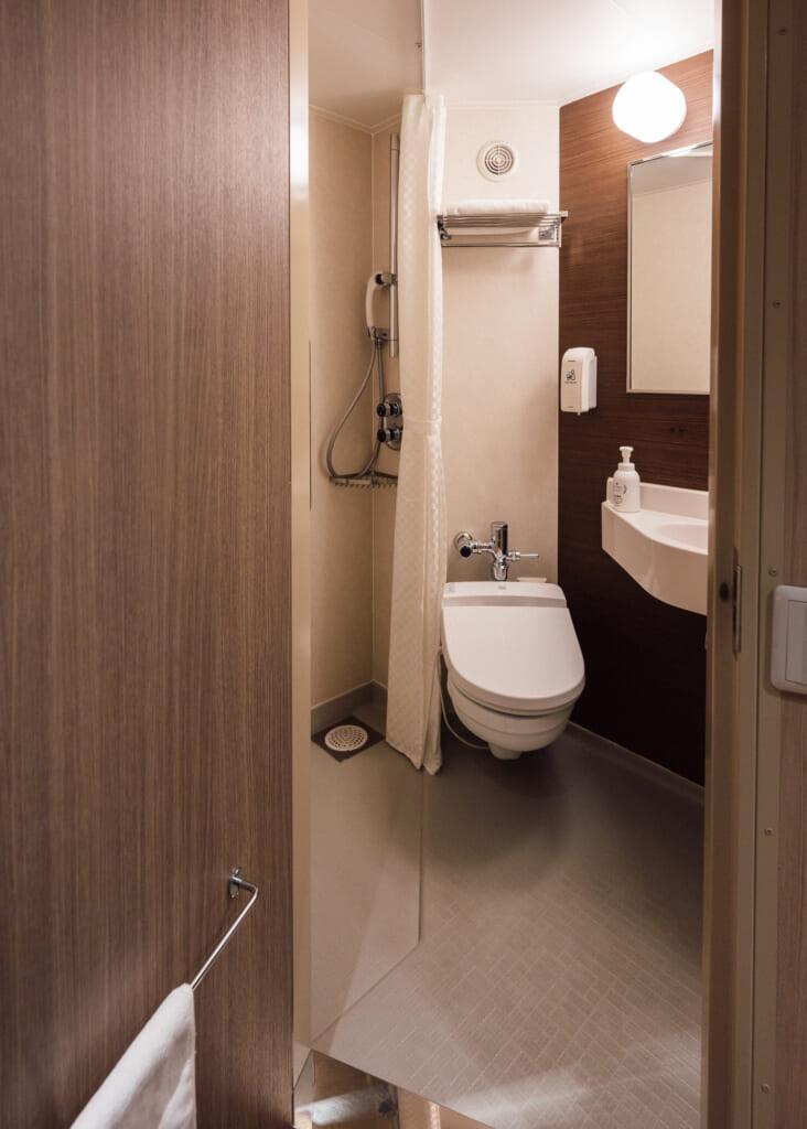 toilet on Sunflower Ferry