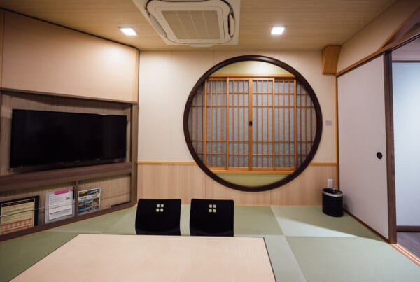Japanese style deluxe room on Sunflower Ferry Cruise in Japan