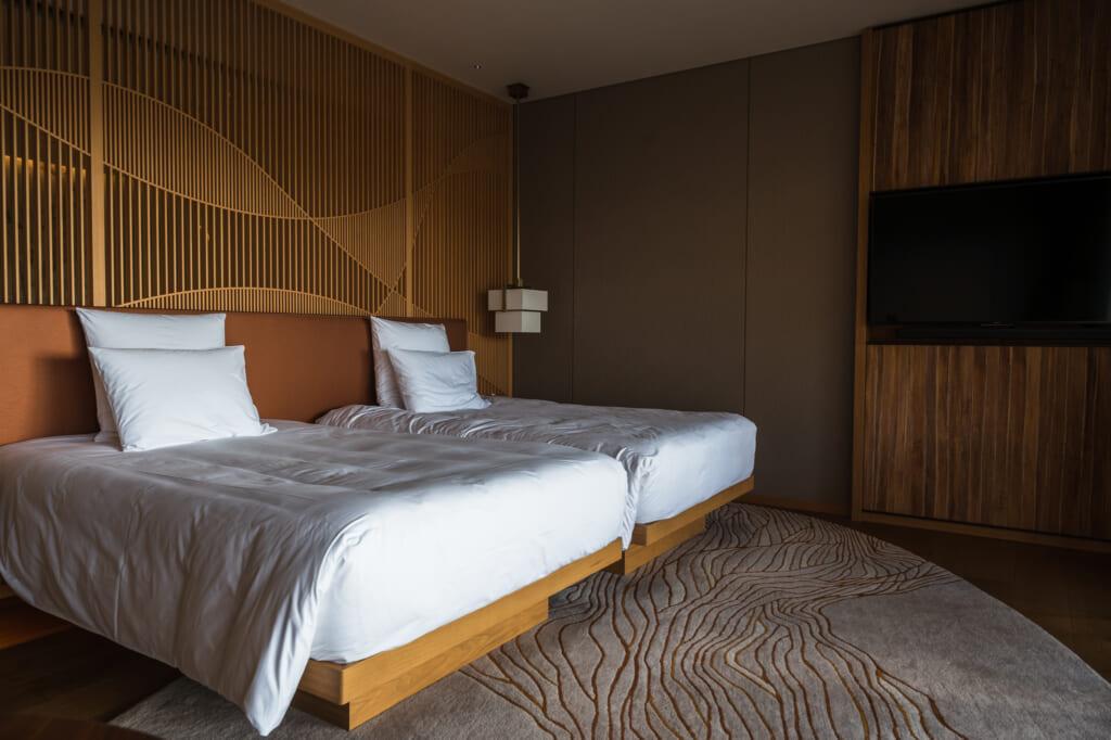 luxury accommodation in Japan's onsen capital of Beppuq
