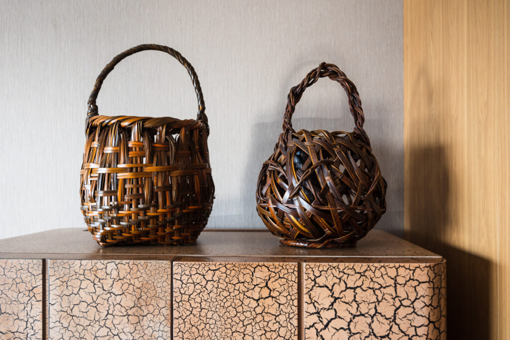 traditional bamboo craft in oita prefecture