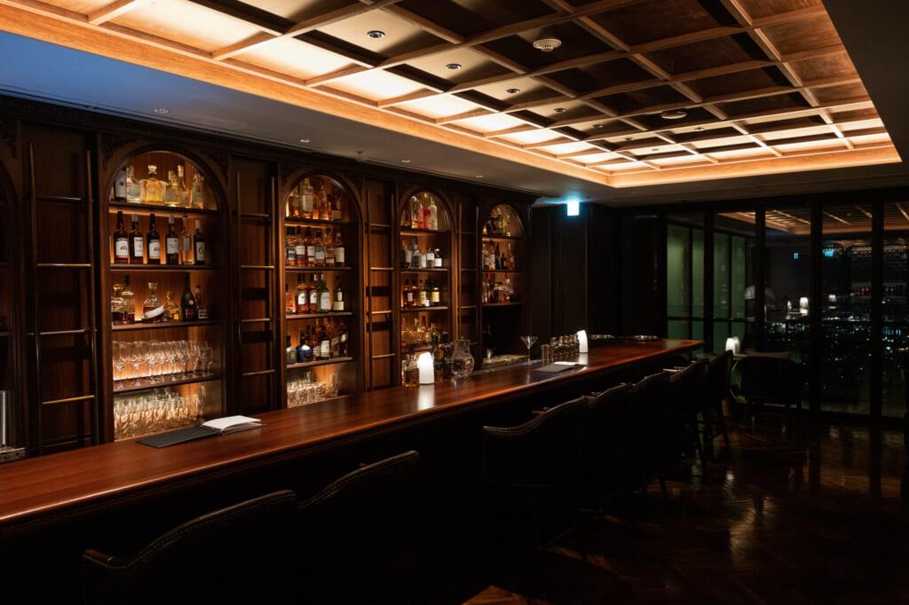 beppu bar in luxury hotel