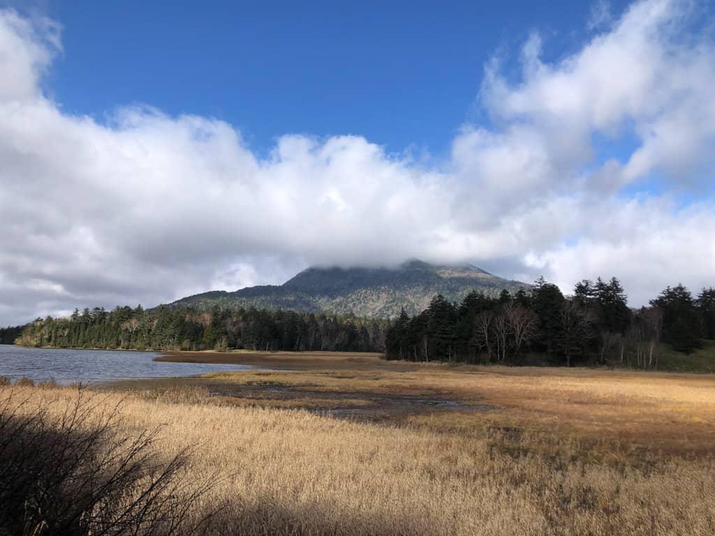 mountain and marshland japan national park