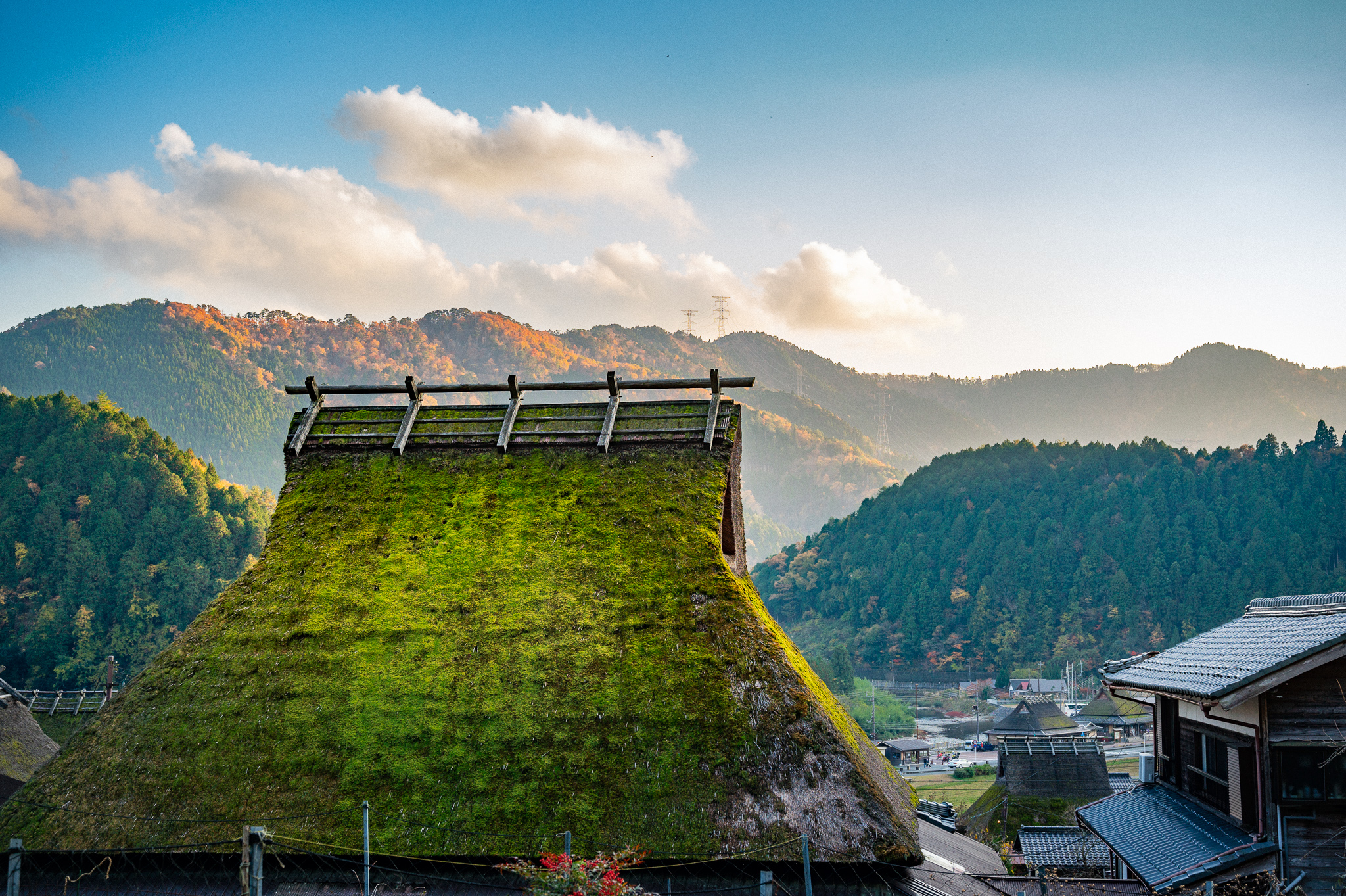 Kayabuki: The Tradition of Thatched Roof Houses in Japan Near Kyoto