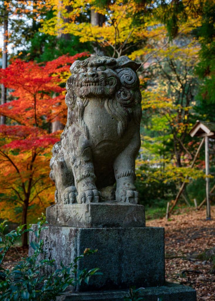 Japanese stone guardian