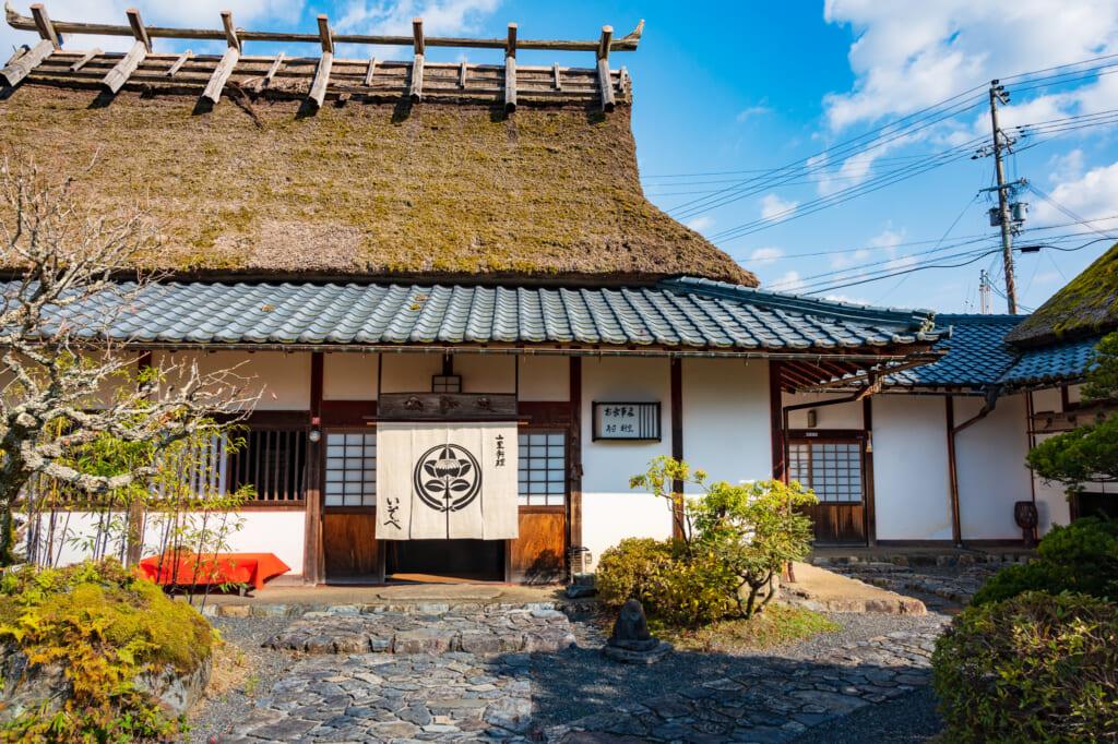 traditional japanese restaurant and ryokan