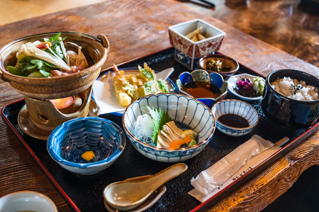 Japanese cuisine near kyoto
