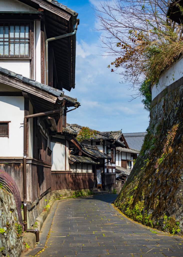 Samurai neighbourhood in Usuki CIty, Oita