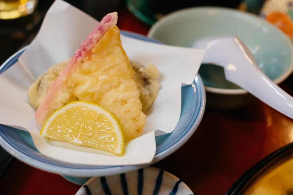 tempura in oita prefecture