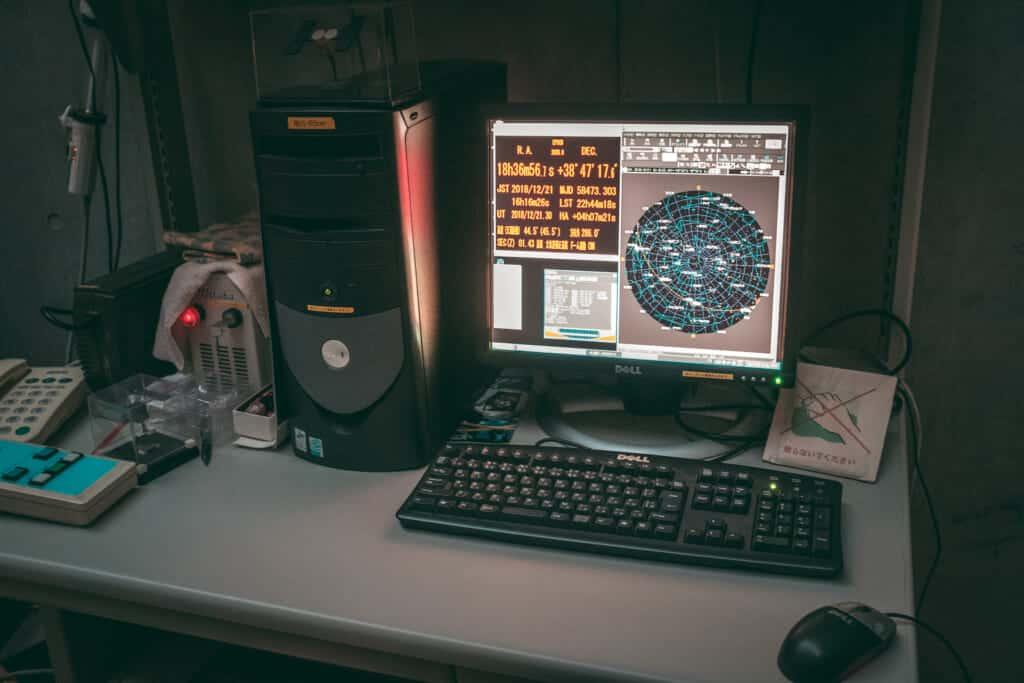 computers in the asahikawa observaory