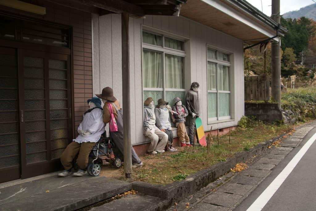 dolls of Nagoro Village in Iya Valley, Tokushima, Shikoku