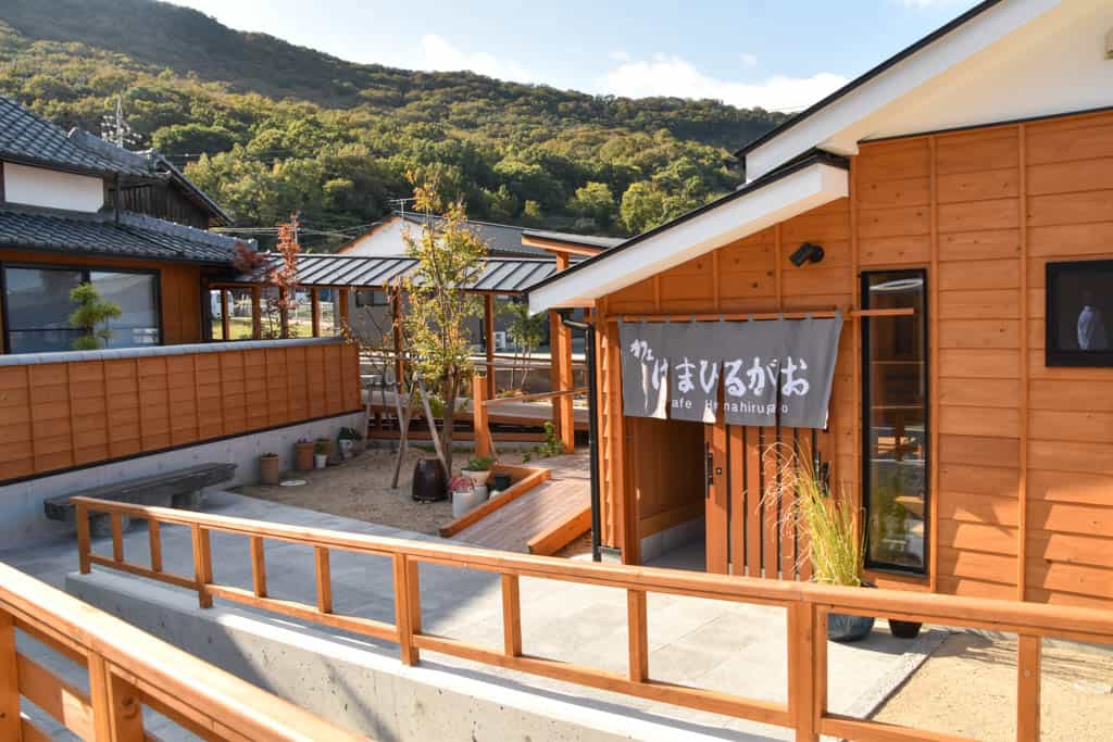 Japanese style accommodations and rooms at Mito no Sato  on Shodoshima, Shikoku island
