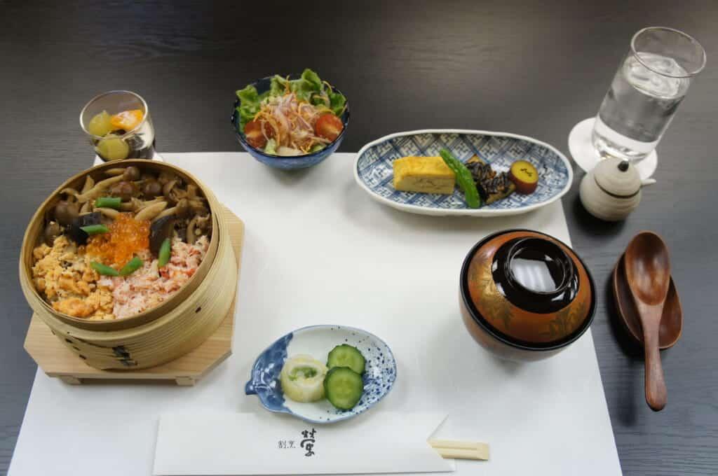 Kappo Hotaru traditional teishoku Japanese lunch