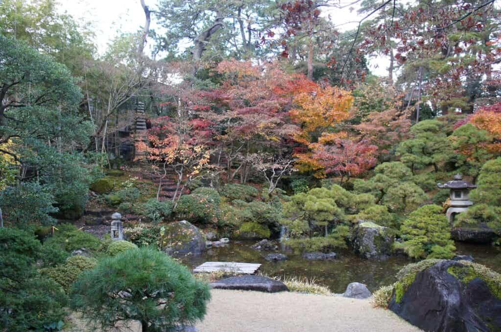 Niigata Walking Tour Saito House Japanese gardens