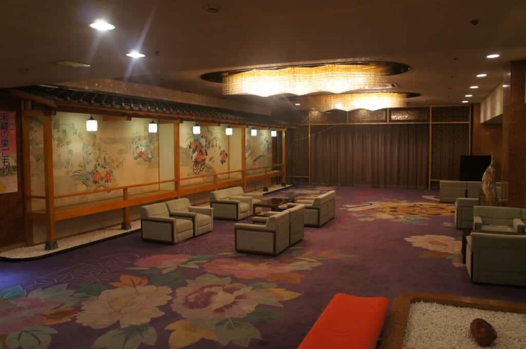 Ryokan Lobby of Ryotsu Yamaki
