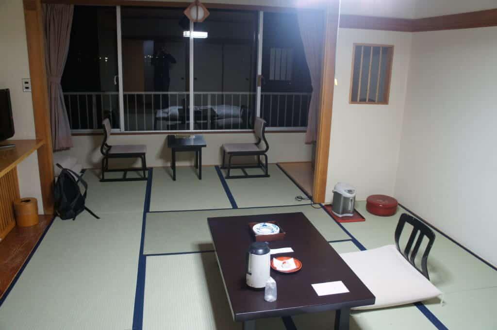 Ryokan Guest Room with Tatami Floors