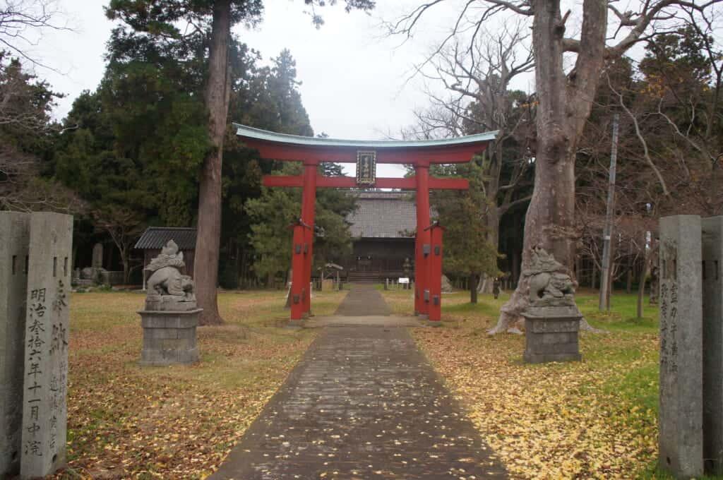 Sado Island Japanese Shinto Sanno Shrine