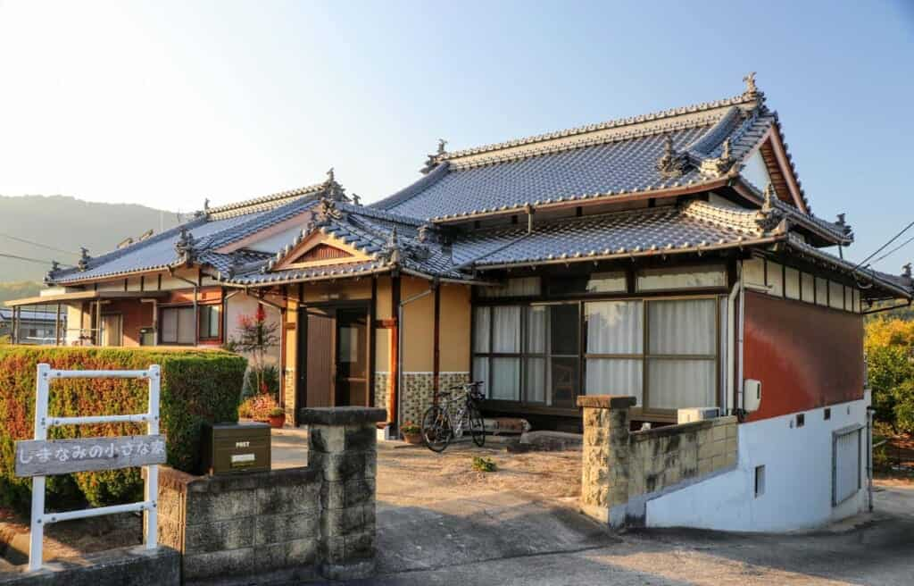 traditional japanese house farmstay