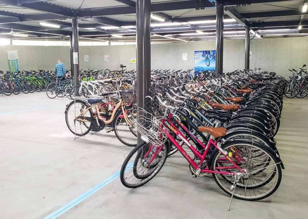 Bikes available at Sunrise Itoyama