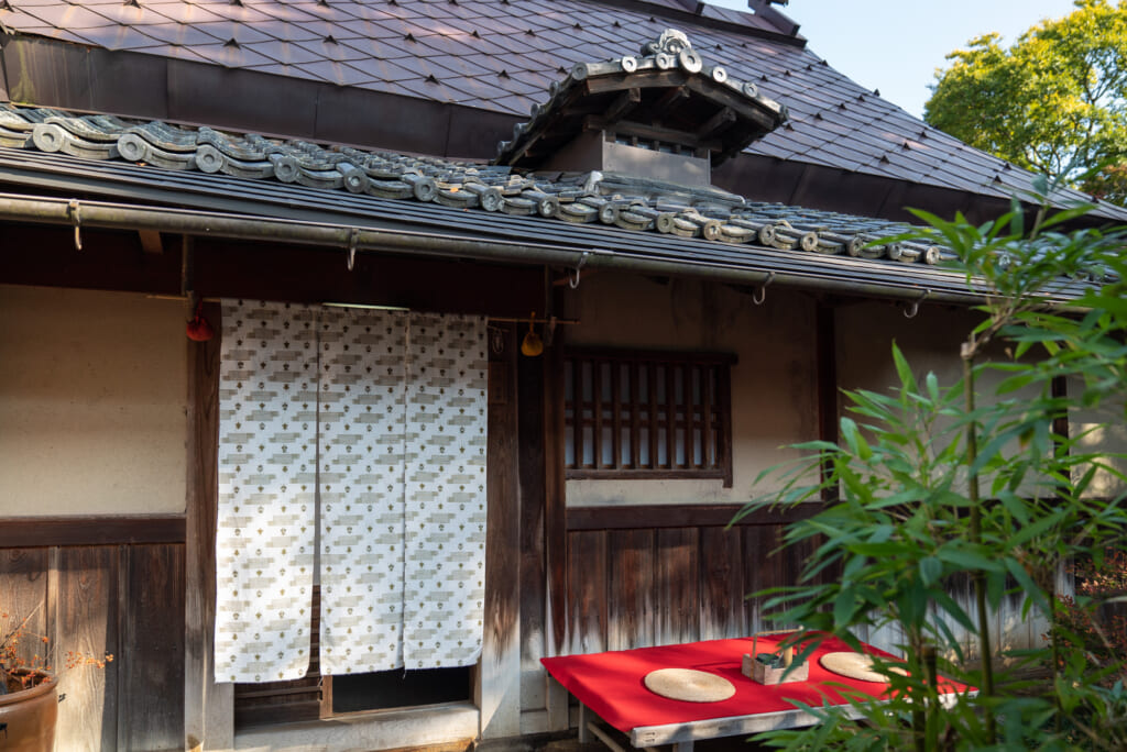 Heki-tei is an authentic samurai residence