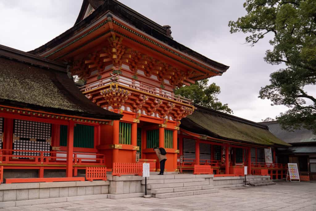 Usa jinju in Oita prefecture